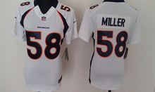 100% Stitiched,Denver Bronco,Von Miller for mens and womens,youth(China (Mainland))