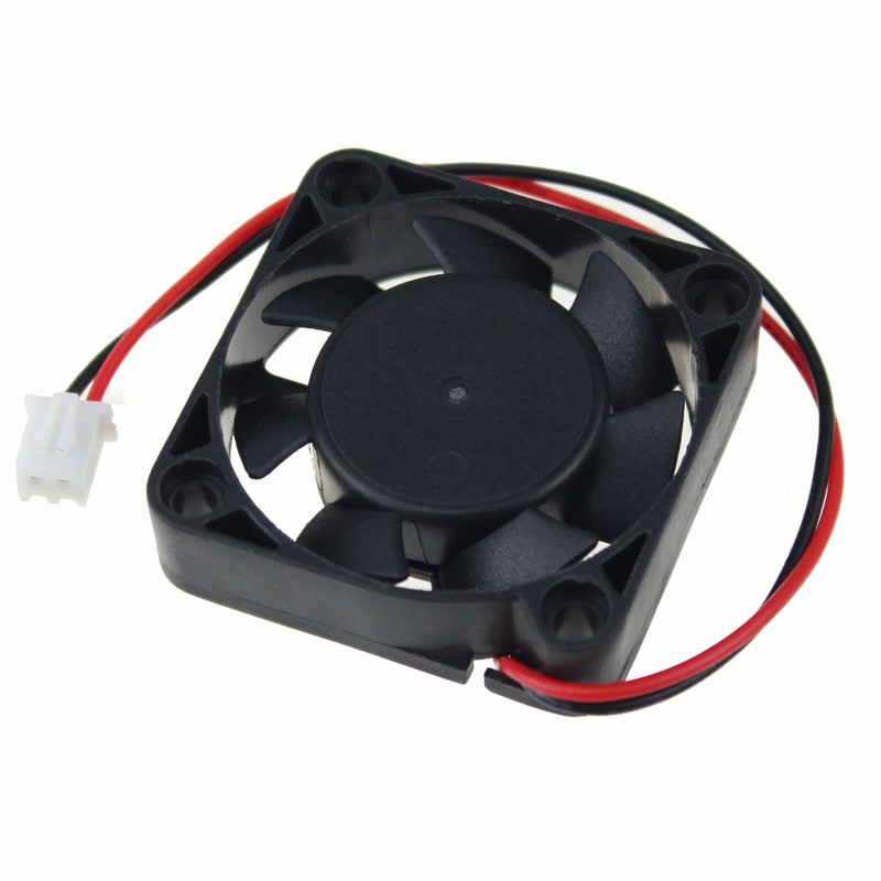 50 Pieces/lot High Speed 40x40x10mm 2Pin XH2.5 4cm 40mm 12V Cooler Ball Bearing Cooling Fan(China (Mainland))