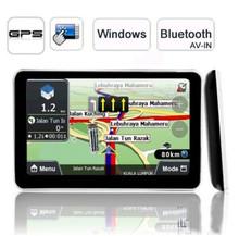"5 Inch Car  GPS Navigation 4GB 128M MTK FM 5"" SAT NAV Navigator Russian Europe North/South American Maps(China (Mainland))"