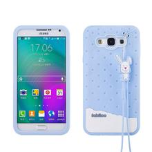 3D Luxury Soft Silicone Cute Phone Cases Samsung Galaxy E7 E5 J1 J5 J7 On5 Fabitoo Rubber Gel Back Cover Fundas - ShenZhen Poplar Technology CO.,LTD store