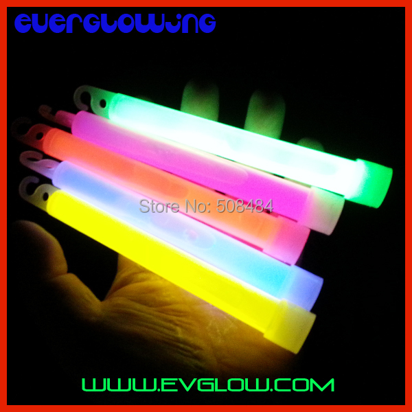 3 5 colors 6 inches(15*150mm) Chemical Glow Stick light stick glowing neon Party dancing - Yiwu Everglowing Toys Factory store
