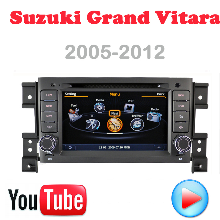 Car DVD Suzuki Grand Vitara GPS PC Multimedia 3G wifi Navigation DVR HD S100 touch video Factory Price Free Map card - Quick Krist's store