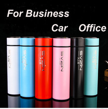 High-grade Stainless Steel Fashion Business Vacuum Car Office 500ml Thermo Mug Woman Man Tumbler Water Bottle Cup Vacuum Flask(China (Mainland))