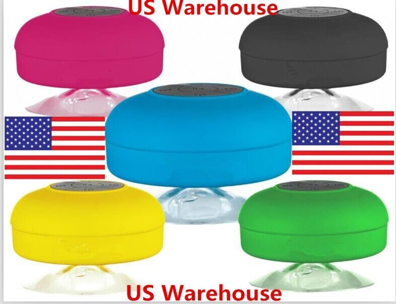 US Warehouse cool gadgets bath mate water-proof portable bluetooth wireless speaker for iphone6 Note3 S5(China (Mainland))