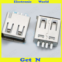 1000 A Mother Plug Welding Line Main Body Wire A USB Female Socket Wire Injection USB AF(China (Mainland))