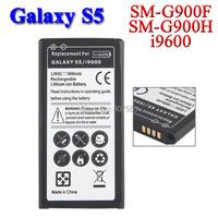 3800mah battery For Samsung Galaxy S5 i9600 SM-G900H SM-G900F SM G900H G900F G900V Batterie Bateria Batterij Accumulator AKKU