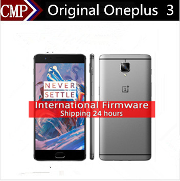 International Version Oneplus 3 One Plus Three A3003 4G LTE Cell Phone Android 6.0 5.5 inch FHD 6GB RAM 64GB ROM 16MP NFC Fingerprin  -  China Center store