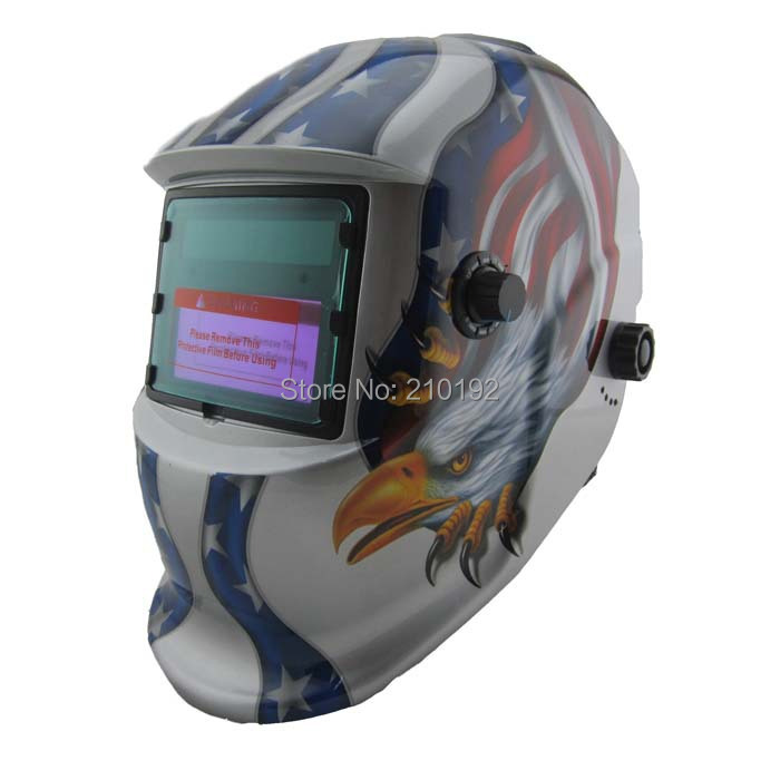 Eagle claws Solar auto darkening/shading grinding function filter TIG MIG accessories welding mask/welding helmet/protect mask(China (Mainland))