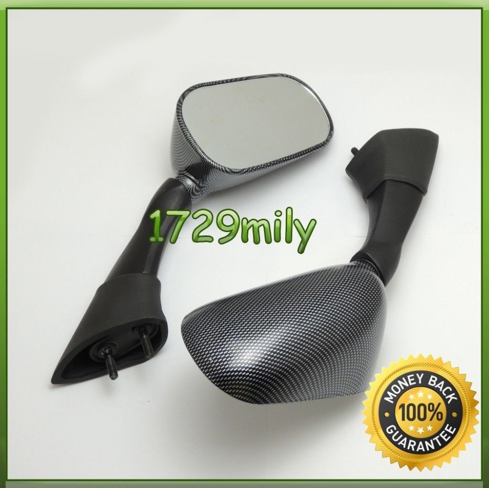 Carbon Look Bike Motorcycle Rearview Mirrors fit For Yamaha FJR1300 2003 2004 2005 Brand New Mirrors FMIYA013(China (Mainland))