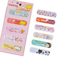 Korean travel essential cute band aid Color cartoon wound paste 5pcs/set(China (Mainland))