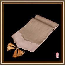 black table linen promotion