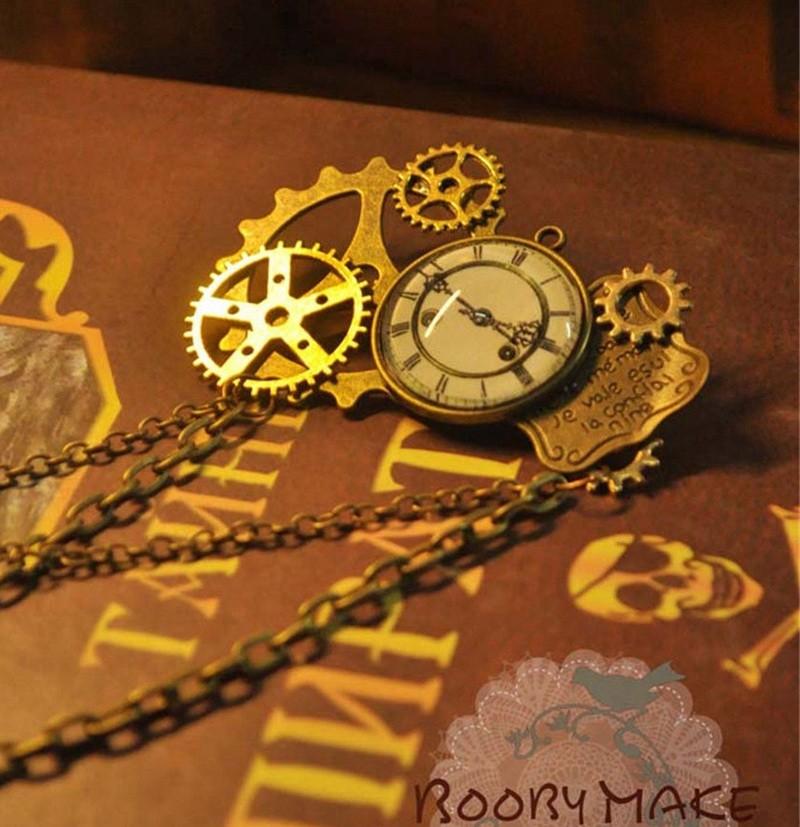 1pc Steampunk Brooch Badges
