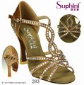 Free Shipping Suphini available More Dance Heels Latin Shoes Woman Dance Shoes Rhinestone Hot sale Dance