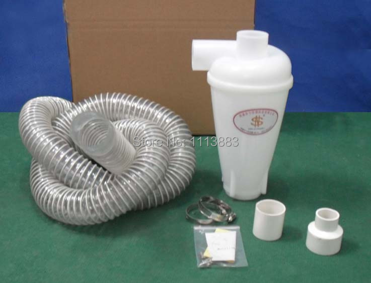 Cyclone Dust Separator + 2.5m Hose with 50mm diameter(China (Mainland))