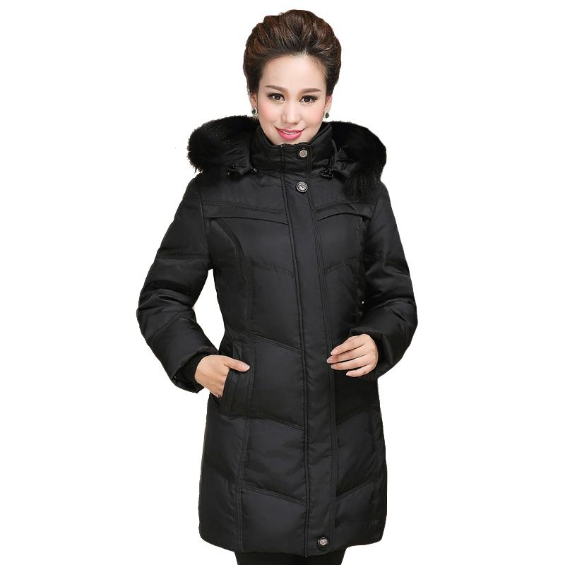 Winter Jacket Women 2016 Fashion Hot Sale White Duck Down Winter Coat Women Fur Collar Women Jacket and Coats Winter LL0130(China (Mainland))