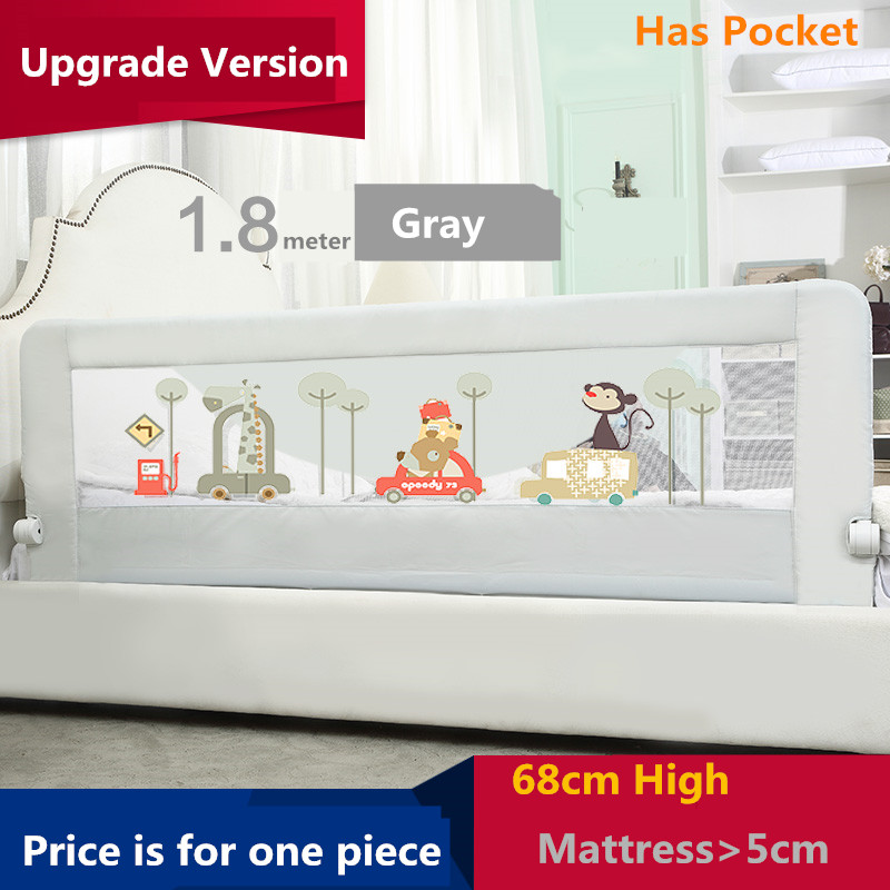 Baby crib guardrail fence baby bed fence 2 meters 1.8 bed general bed rails buffer-type(China (Mainland))