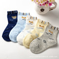 1 9 Years Spring Children Cotton Socks For Baby Boy Socks cartoon car Winter Kid In