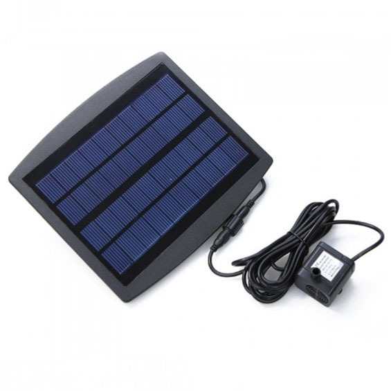 Hot selling New 0.8W Solar Water Pump Submersible Air Pump for Garden Plants Watering Kit Outdoor Drip Irrigation 175L/H(China (Mainland))