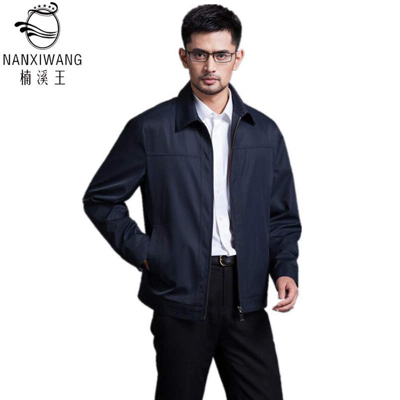 3 Colors M-3XL Brand Clothing 2016 Spring/Fall Jacket Men Casual Turn-down Collar Solid Slim Fit Jacket Coat Army Brand Jackets(China (Mainland))