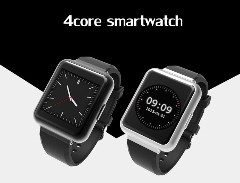BTL Smart Watch Q1 1.54″ Display Android 5.1 3G WiFi GPS Bluetooth Fitness Tracker NANO Sim Card Clock Phone For IOS Android