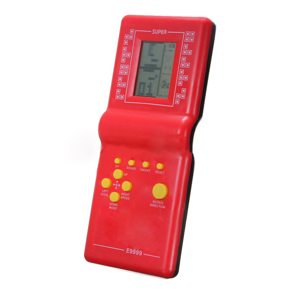 UESH!Tetris Game Hand Held LCD Electronic Game Toys Brick Classic Retro Games Gift UK<br><br>Aliexpress