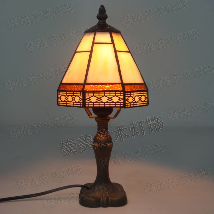 Fashion modern fashion chinese style vintage rustic bedroom bedside lamp home gift lamp lighting<br><br>Aliexpress