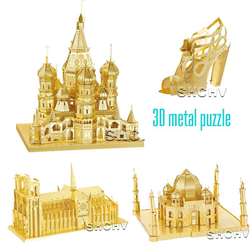 Acquista vendita calda 3d metallo puzzle for Costruzione di software per piani di lavoro