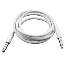 1M Audio Cable 3.5mm to 3.5 mm Male to Male Extension Jack AUX Cable For iphone 4 4S 5 5s 6 6s For iPad MP3 MP4 MUSIC PLAYER(China (Mainland))