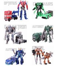 Anime transformation 4 Toys Robot Car Action Figure Optimus Pe Galvatron Hound Drift Crosshairs Brinquedos Kids Toys Gifts
