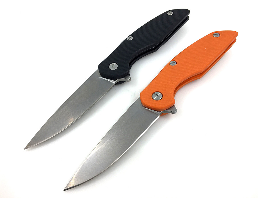 Buy WTT 111 Tactical Ball Bearing Folding Knife With D2 Blade G10 Handle Survival Outdoor Hunting Combat Camping Knives EDC Tools cheap