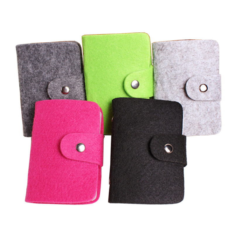 Hot Sale Fashion 24 Bits Cards Holders Quality Suede Business Porte Carte Credit Card Holder Organizer Manager For Women and Men(China (Mainland))