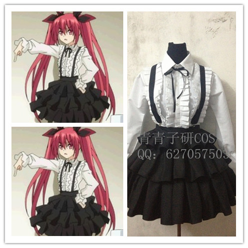 Date A Live Kotori Itsuka Cosplay Anime Costume Any Size