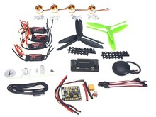 F02047-C 4-axle GPS Mini Drone Helicopter Parts ARF DIY Kit: GPS APM 2.8 Flight Control EMAX 20A ESC Brushless Motor