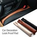 2pcs lot Practical Car Accessory PU Leather Car Seat Gap Padding Seam Plug Car Decoration Aperture
