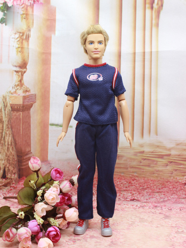 20 Types for select Prime quality Good-looking New Informal Fits set Coat+trousers Garments For Barbie 1:6 boyfriend Kem Doll BBI00218