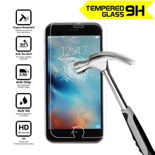 2.5D 0.3mm Premium Tempered Glass Screen Protector for iPhone 4 4S 5 5S SE 6 6s 7 Plus Toughened protective film Guard Shiled