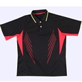 Free shipping new table tennis men s T shirt sports net clothes speed dry fabric