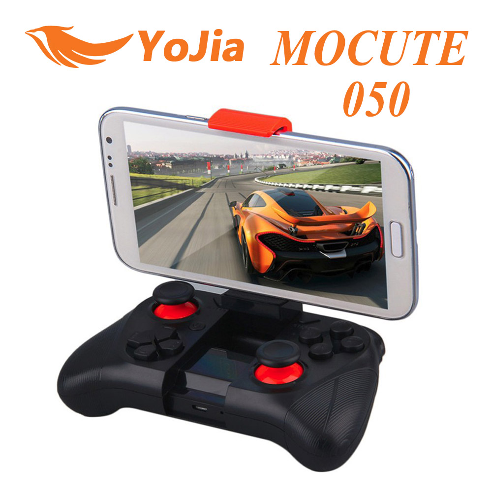 Original MOCUTE 050 Wireless Bluetooth Game Pad Joystick For iPhone iOS Andriod Tablet PC Smart TV Box Game Pad For Game Fans(China (Mainland))