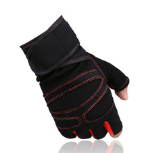 Gym Body Building Training Sports Fitness WeightLifting Gloves For Men And Women Custom Fitness Exercise Training Gym Gloves(China (Mainland))