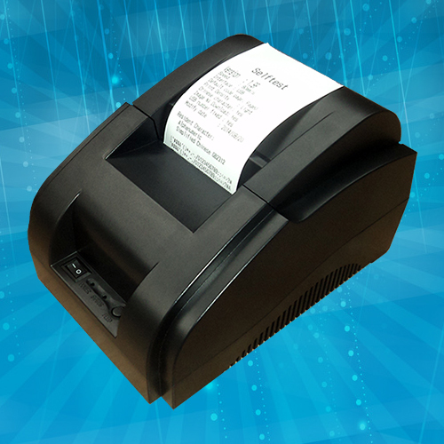 thermal printer 58mm usb receipt printer pos printer can print multi-language 110V-240V power input free shipping(China (Mainland))