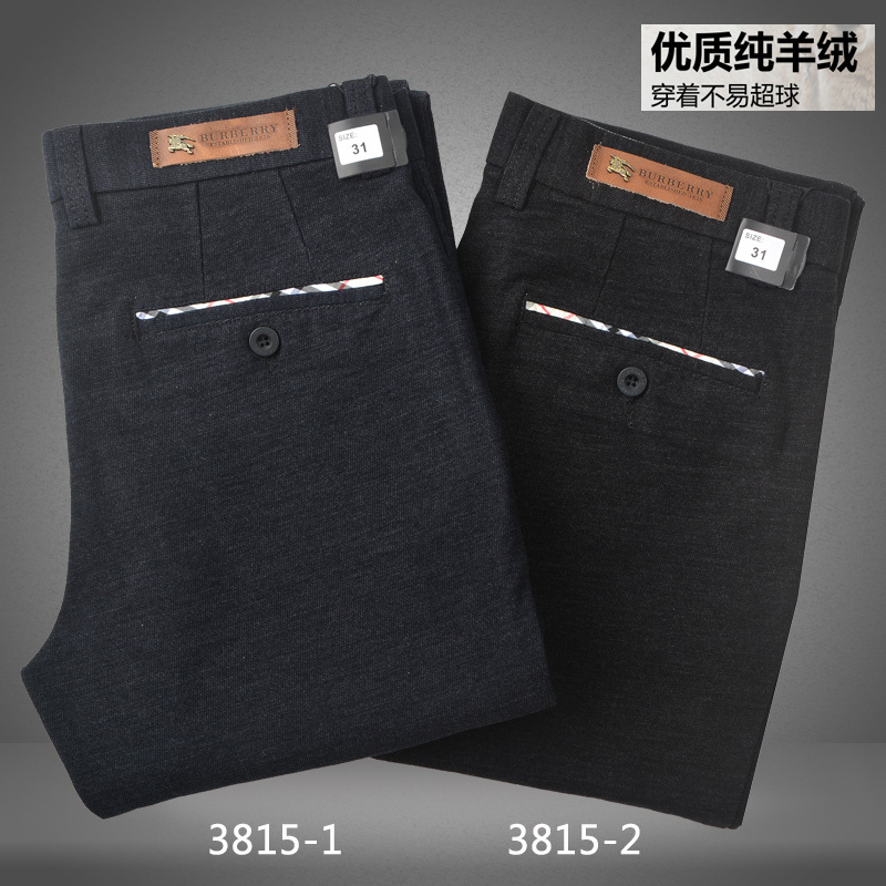 The new winter British style with thick wool fabric casual pants men's cultivate one's morality Fashion brand(China (Mainland))