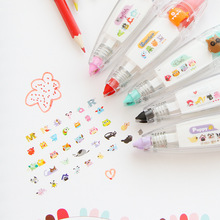 1pcs Newest Cute Lace Drawing Graffiti Toys Diary Modified Toys 5 Color Random Delivery(China (Mainland))