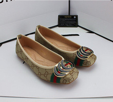 A new Korean round bow shoes leisure shoes code