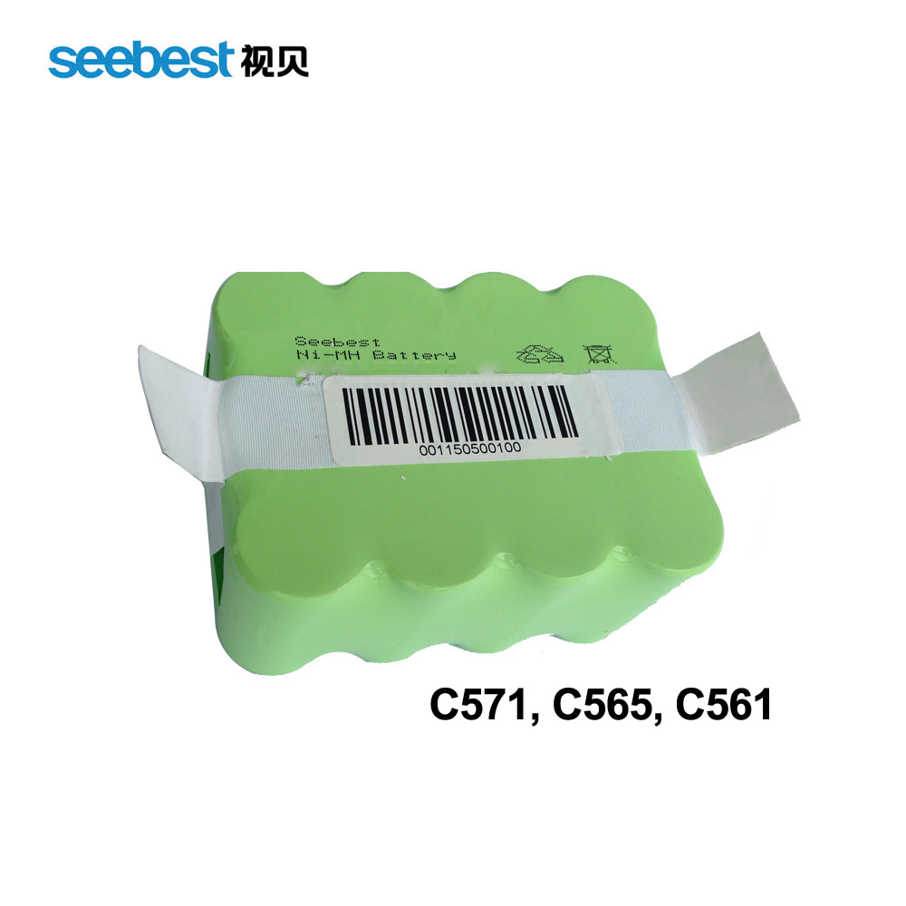 Seebest Robot Vacuum Cleaner Spare Parts Battery Ni-MH 2200mah(China (Mainland))