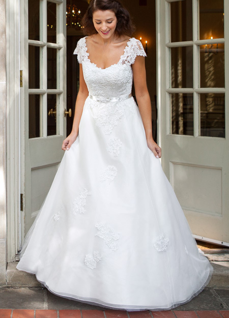 White A Line Wedding Dresses : Aliexpress buy vestidos de noiva white a line