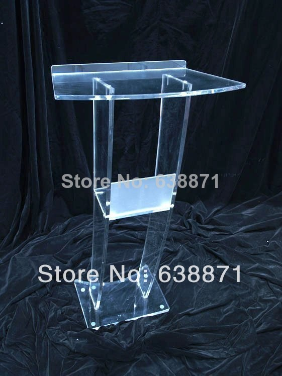 Здесь можно купить  Free Shiping modern design acrylic lectern with microphones  Мебель