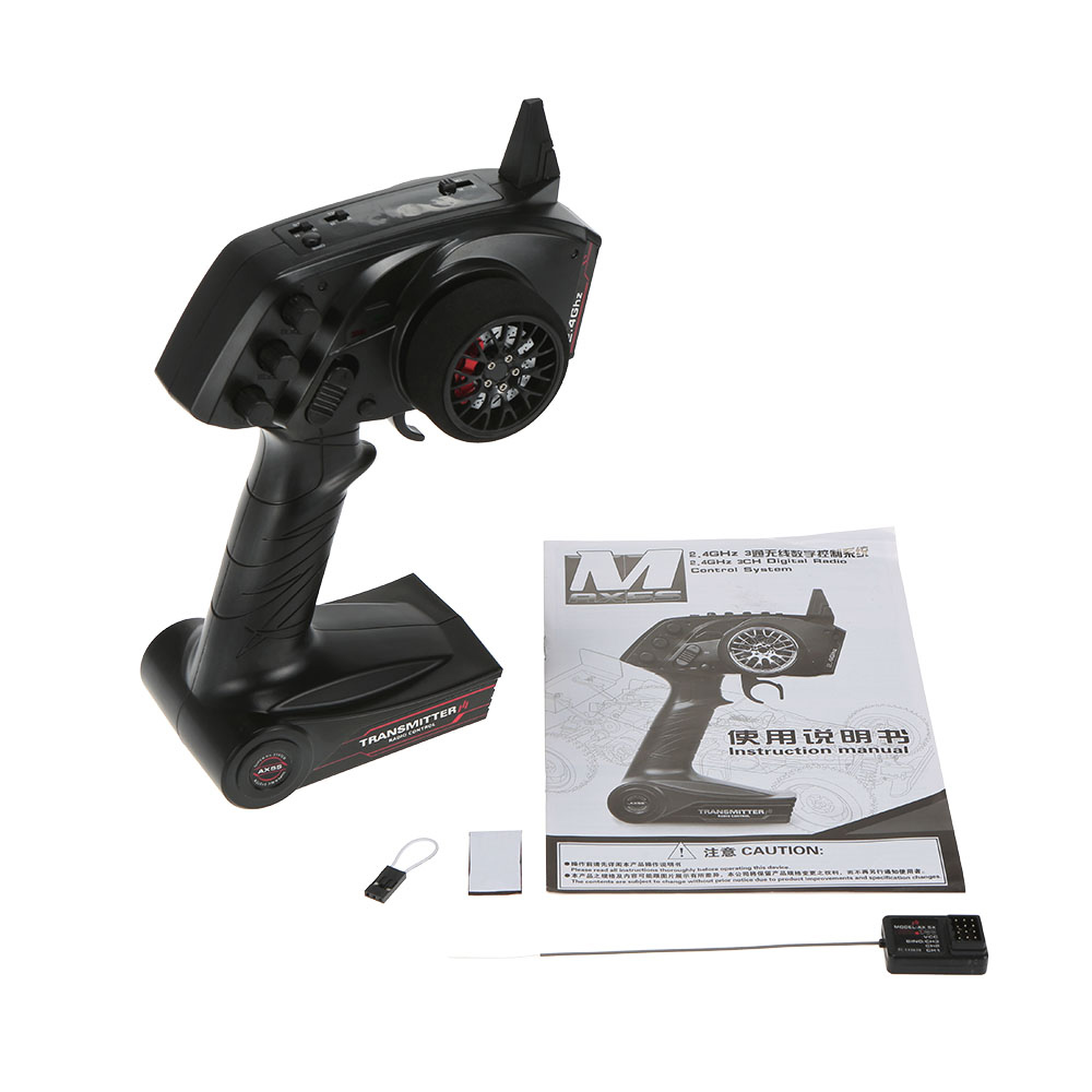 Original AUSTAR AX5S 2.4G 3CH AFHS Radio RC Transmitter with Receiver Super Active Passive Anti-jamming for RC Car Boat(China (Mainland))
