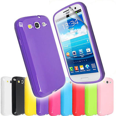 Free shipping Soft silicone Rubber TPU Gel Case Cover For Samsung i9300 Galaxy s3(China (Mainland))