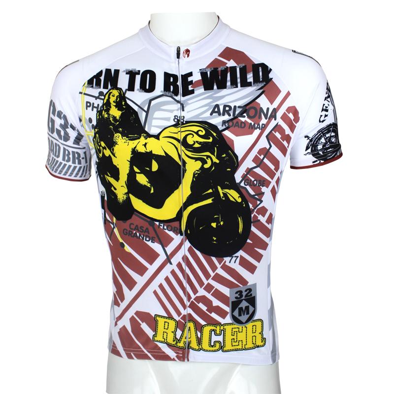 men Mtb cycling jersey bicycle shirts style rider pants outdoor bicycle T-shirts clothing wholesales P094S