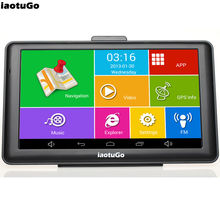 """Original iaotuGo Android GPS 7"""" Capacitive Truck Navigator Android 4.4.2 Quad Core 1.3GHz,8G,WIFI,AV-IN,Bluetooth Free Truck Map(China (Mainland))"""